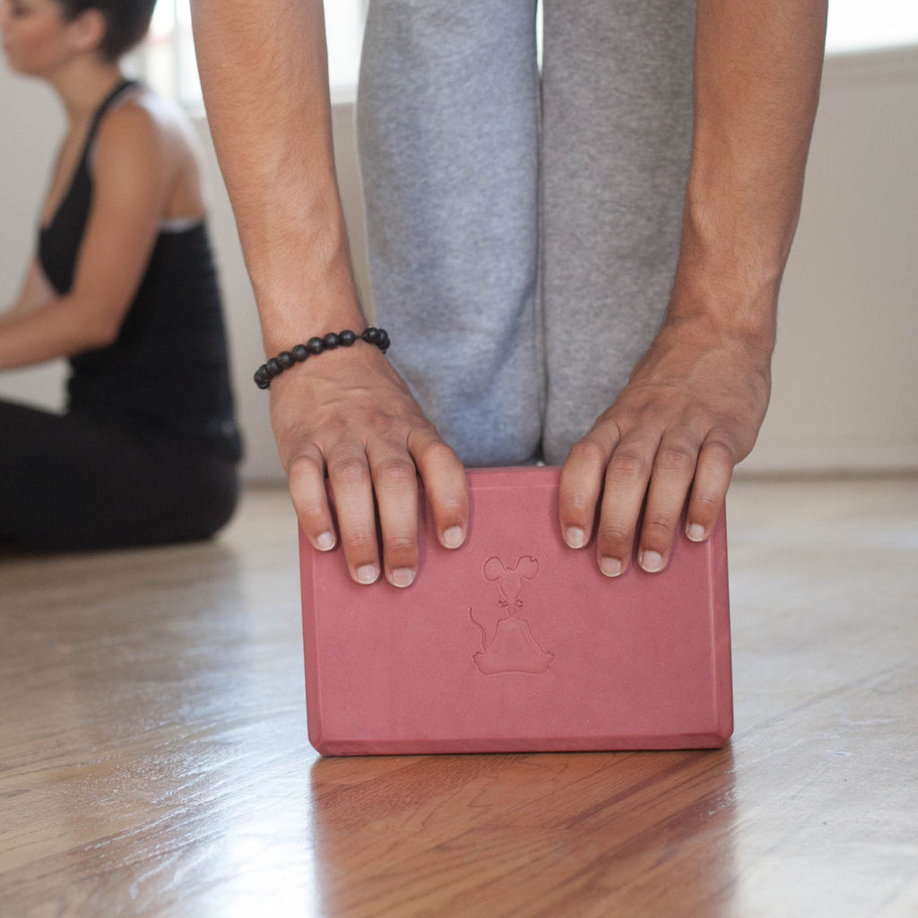 Red Yoga Block