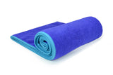 Indigo-Turquoise Hot Yoga Towel