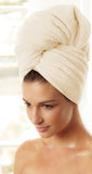 Ivory Hair Towel