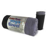 ColorTrue Yoga Towel and Hand Towel , Stone-Black
