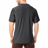 Men's XrossFlex Land & Sea, UPF 50 Short Sleeve T-shirt, Black