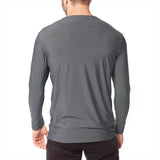 Men's XrossFlex Land & Sea, UPF 50 Long Sleeve T-shirt, Dark Gray