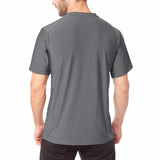 Men's XrossFlex Land & Sea, UPF 50 Short Sleeve T-shirt, Dark Gray