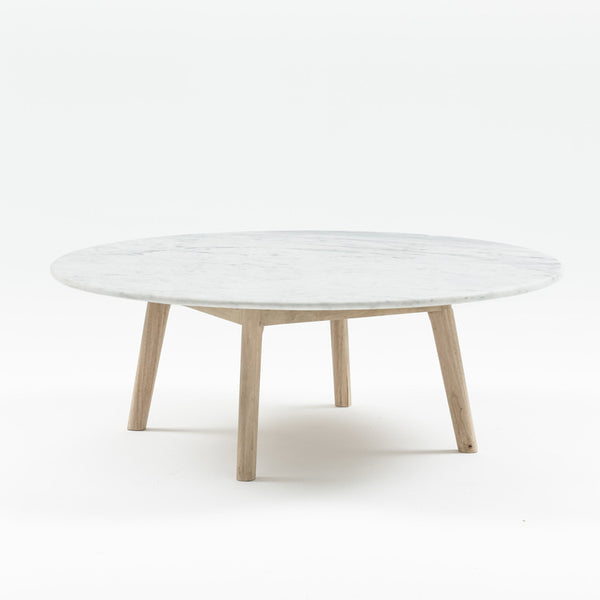 MARBLE COFFEE TABLE - LOW