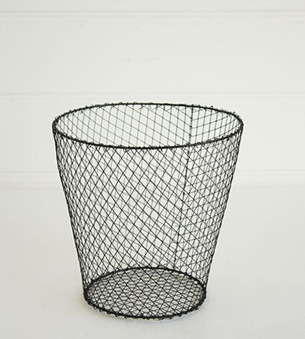 ROUND MESH WIRE BASKET - SMALL