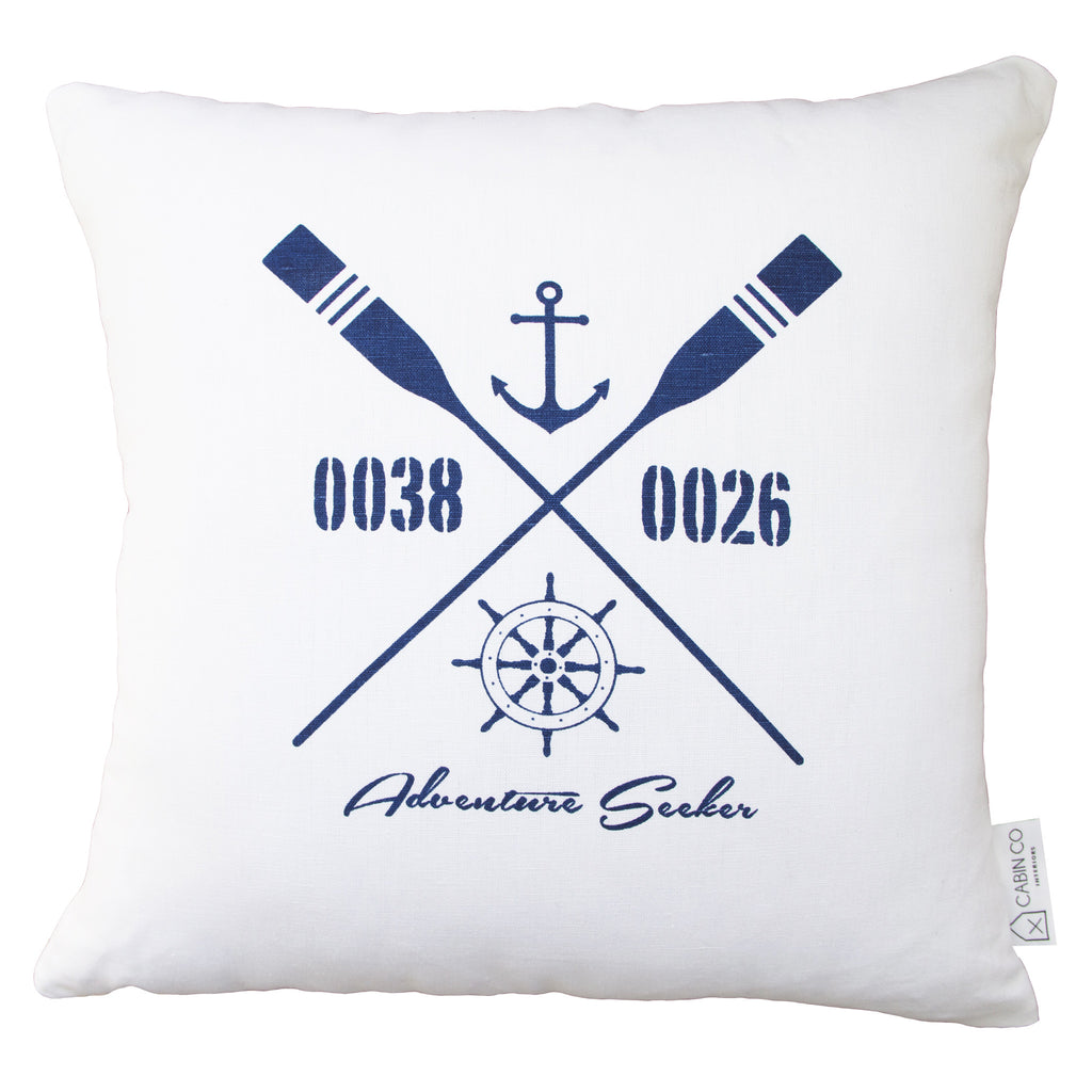 ADVENTURE SEEKER CUSHION COVER