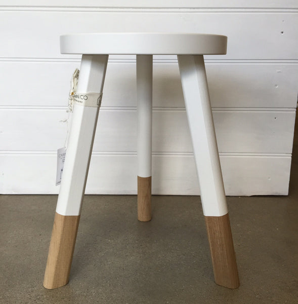 BABANEES STOOL – MEDIUM - WHITE