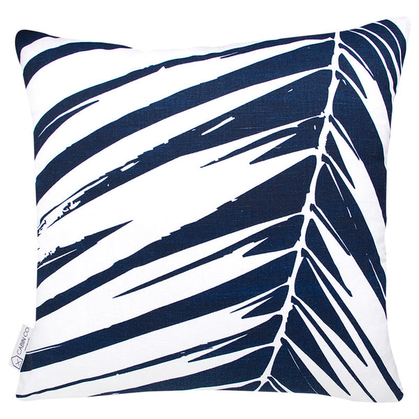 PALM BEACH CUSHION COVER - NAVY