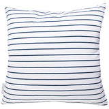 SAILOR STRIPE NAVY CUSHION COVER