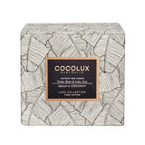 COCOLUX COPPER CANDLE TONKA BEAN & LIME ZEST 150G