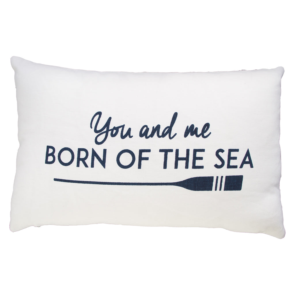 BORN OF THE SEA CUSHION COVER