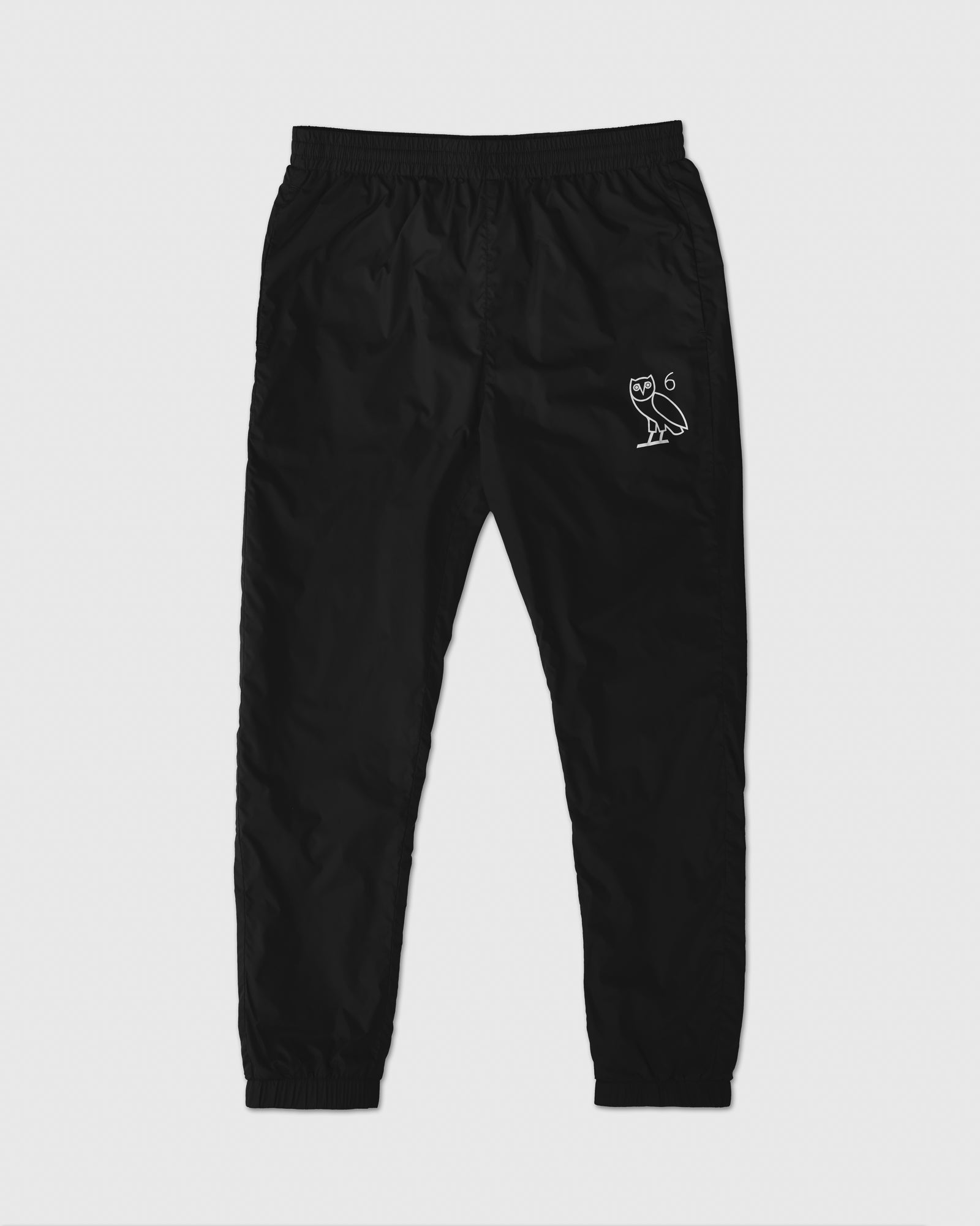 6 OWL PACKABLE TRACK PANT - BLACK IMAGE #1