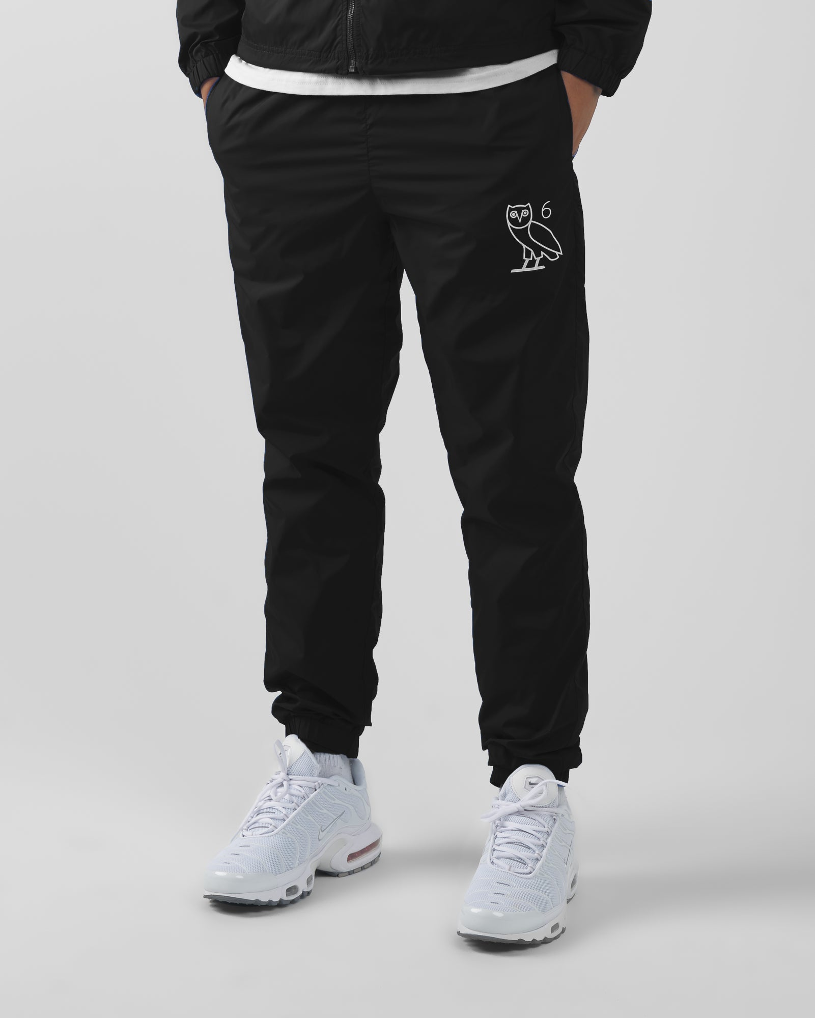 6 OWL PACKABLE TRACK PANT - BLACK IMAGE #4