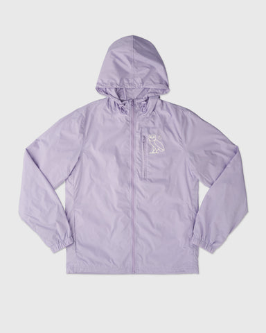 6 OWL PACKABLE WINDBREAKER - PALE PURPLE