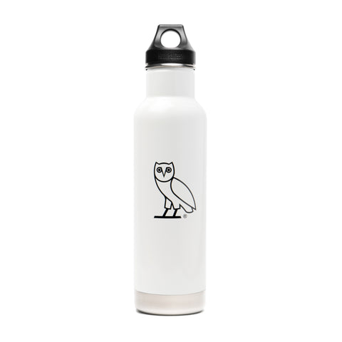 OVO x KLEAN KANTEEN OWL WATER BOTTLE - WHITE