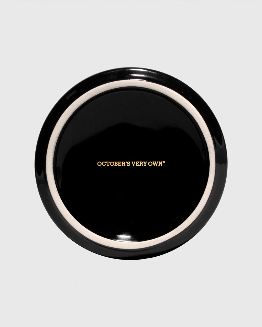 OCTOBER FIRM ASHTRAY - BLACK