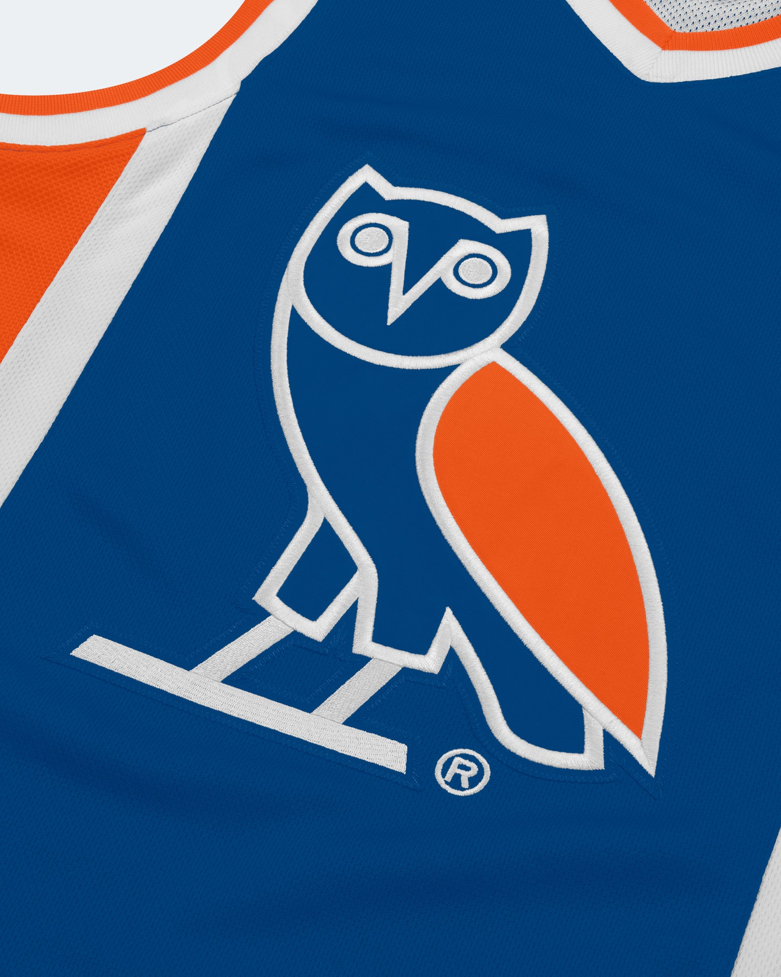 OVO OWL BASKETBALL JERSEY - ROYAL BLUE