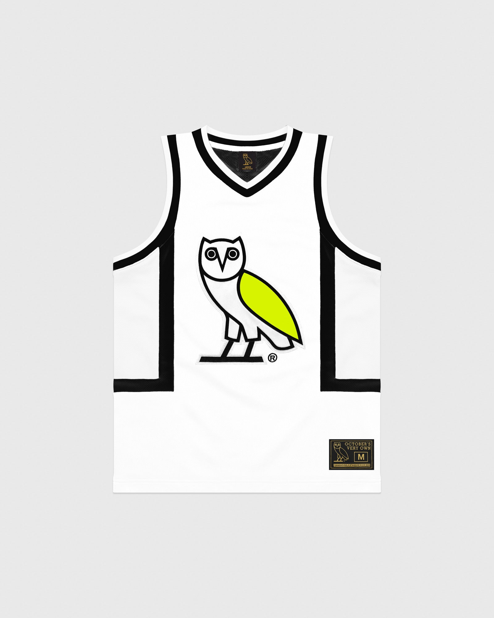 OVO OWL BASKETBALL JERSEY - WHITE