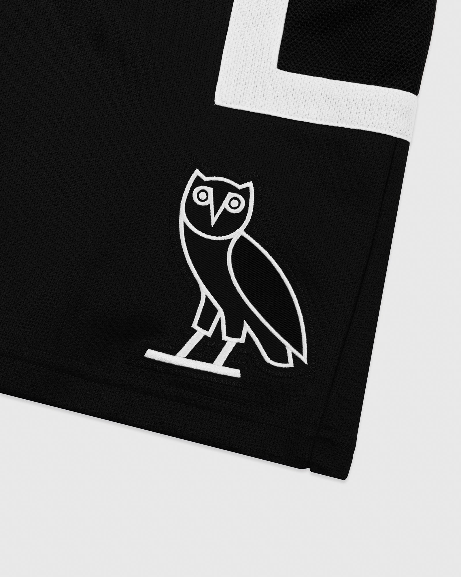 OVO OWL BASKETBALL SHORT - BLACK IMAGE #3