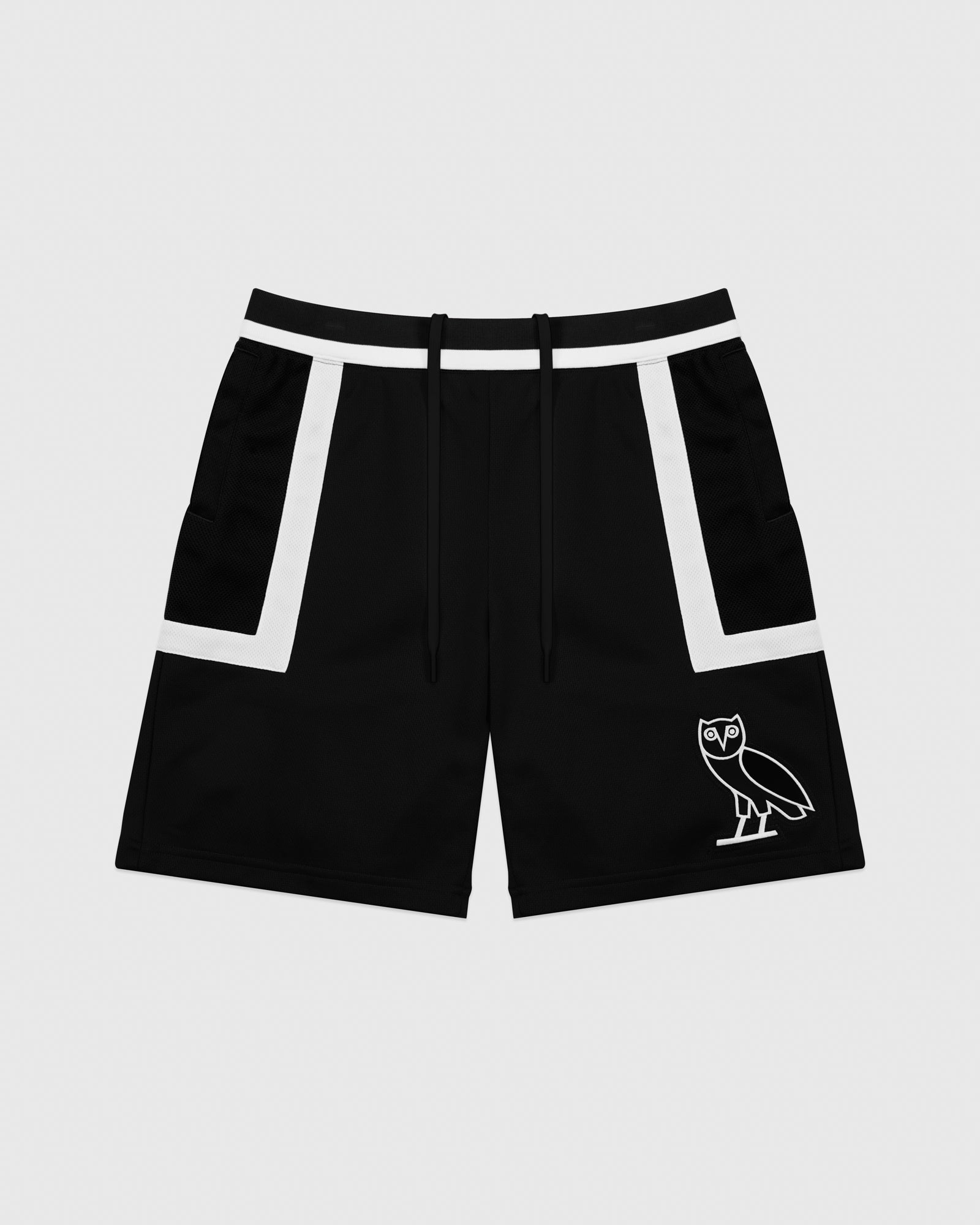 OVO OWL BASKETBALL SHORT - BLACK IMAGE #1