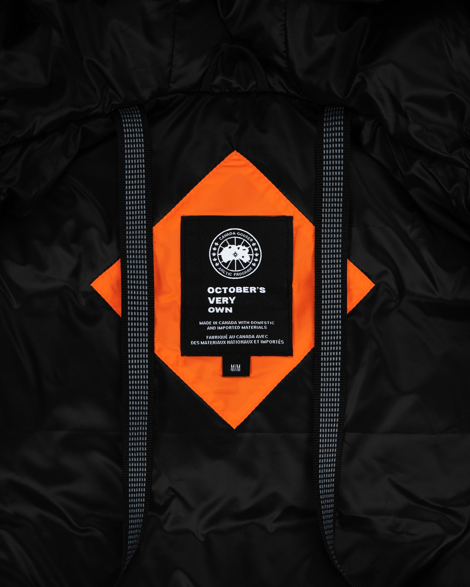 OVO X CANADA GOOSE WOMEN'S CHILLIWACK BOMBER - ORANGE IMAGE #9