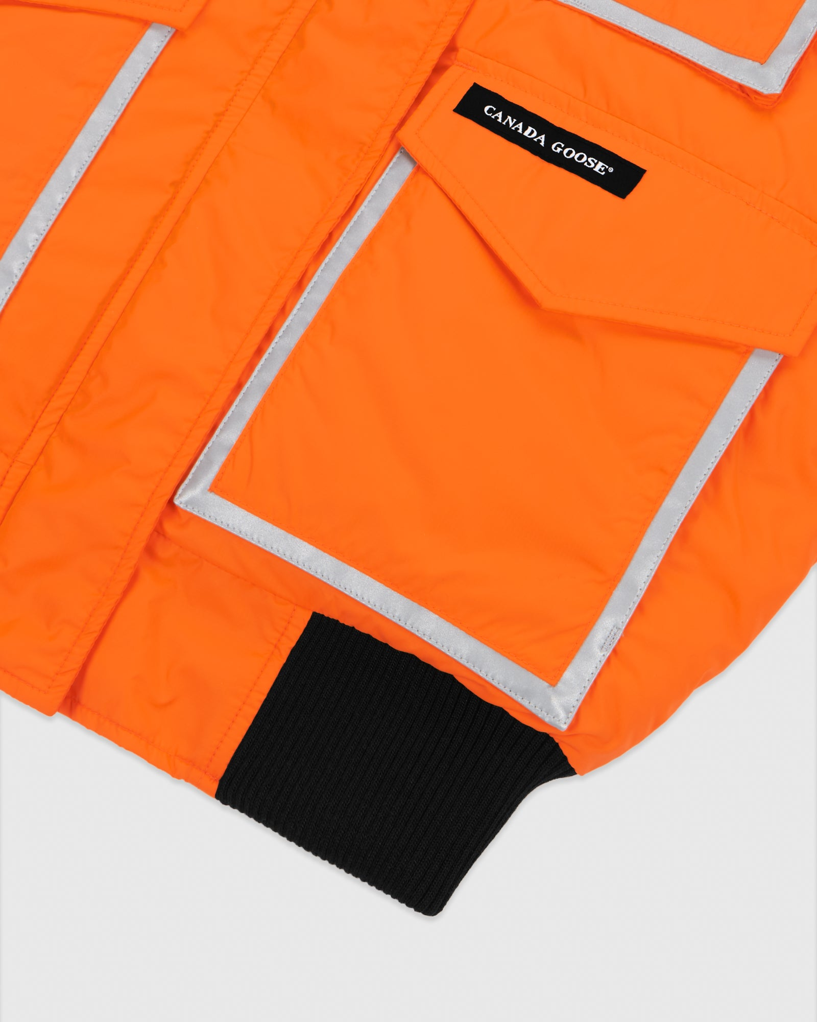 OVO X CANADA GOOSE WOMEN'S CHILLIWACK BOMBER - ORANGE IMAGE #8