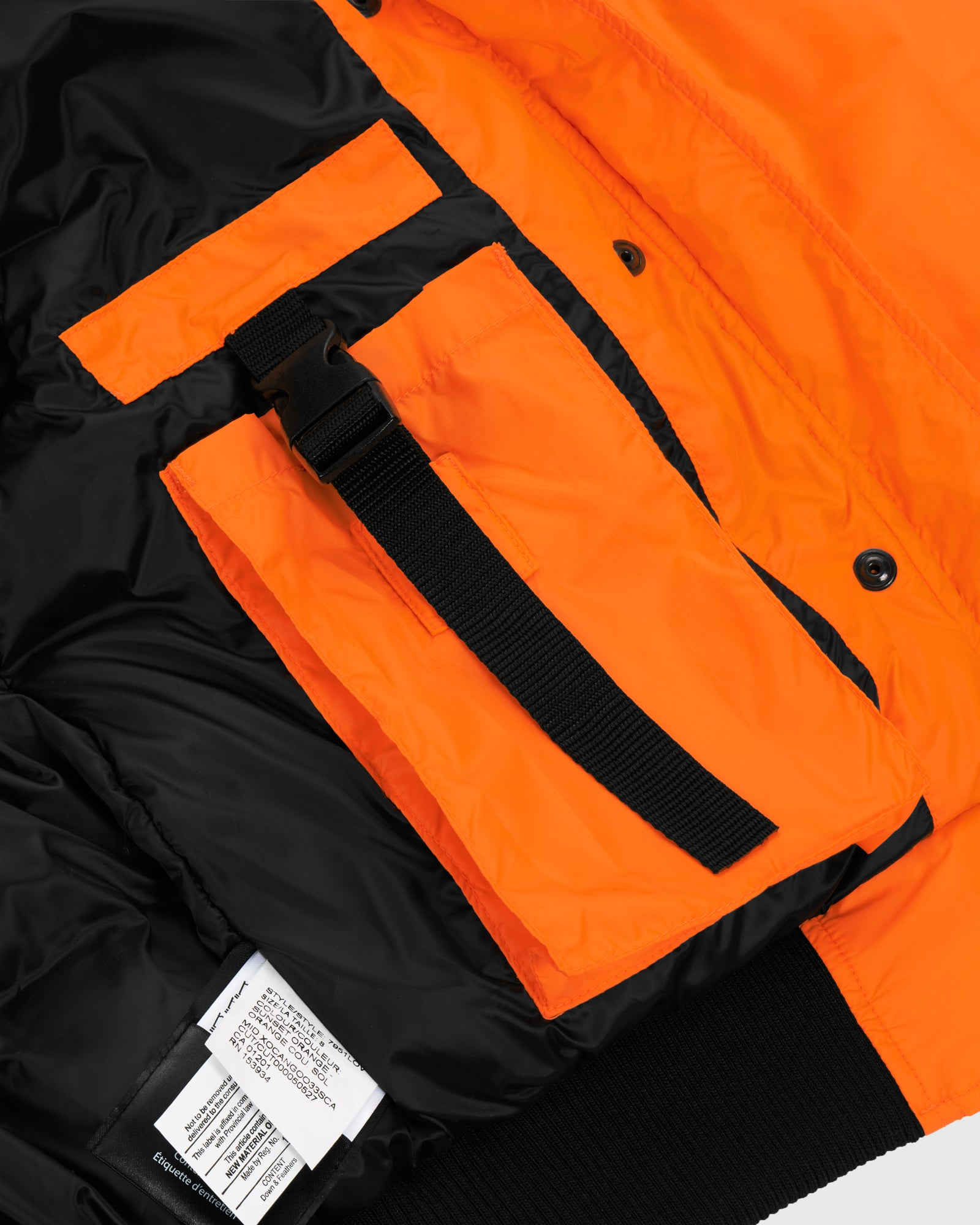 OVO X CANADA GOOSE WOMEN'S CHILLIWACK BOMBER - ORANGE IMAGE #10