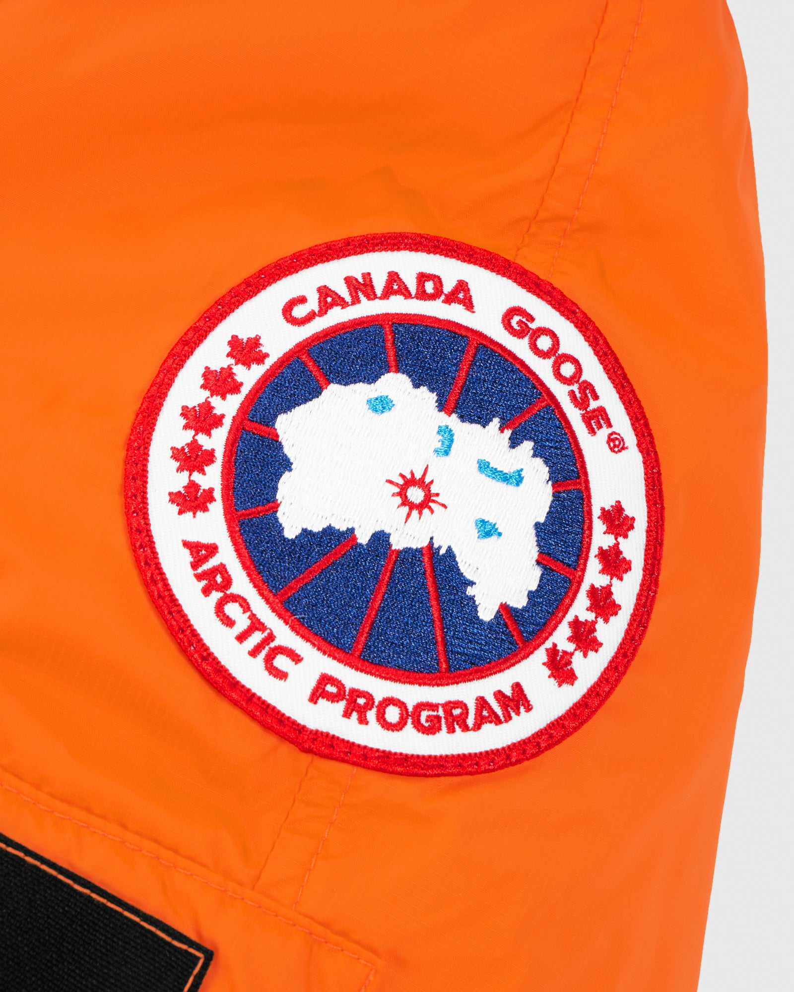 OVO X CANADA GOOSE WOMEN'S CHILLIWACK BOMBER - ORANGE IMAGE #6