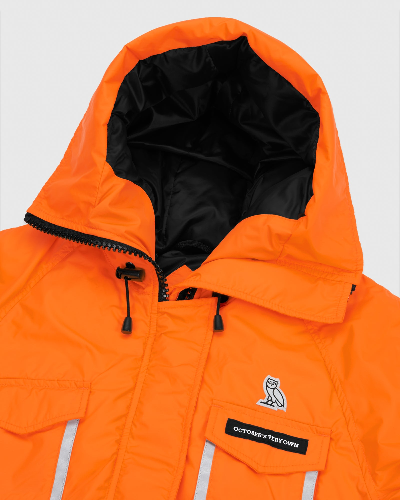 OVO X CANADA GOOSE WOMEN'S CHILLIWACK BOMBER - ORANGE IMAGE #5
