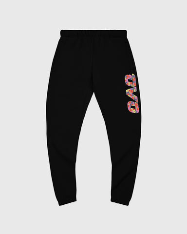 CELEBRATION RUNNER SWEATPANT - BLACK