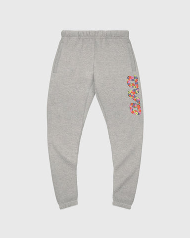 CELEBRATION RUNNER SWEATPANT - HEATHER GREY