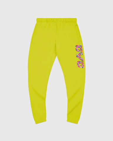 CELEBRATION RUNNER SWEATPANT - LIME
