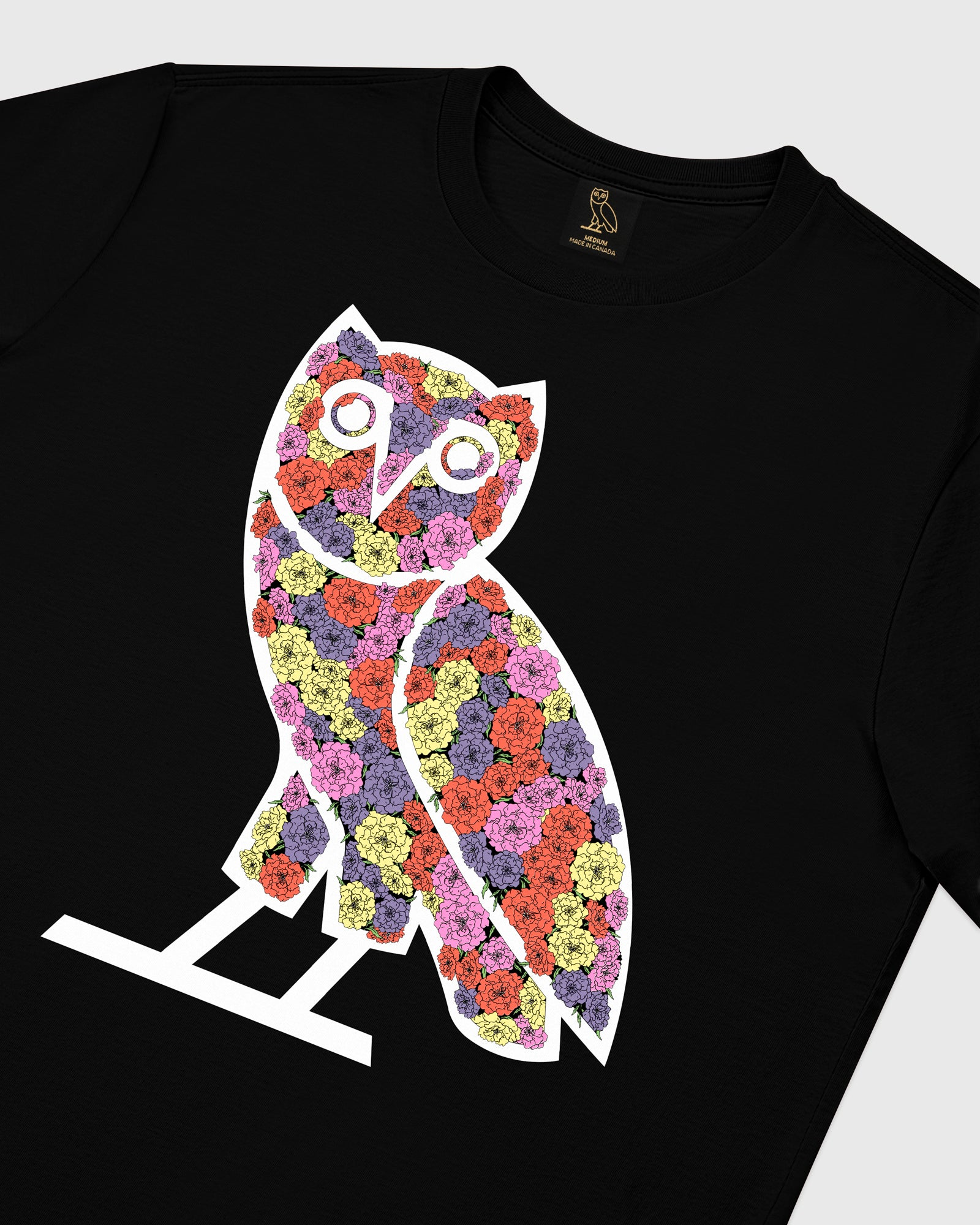 CELEBRATION OWL T-SHIRT - BLACK IMAGE #4