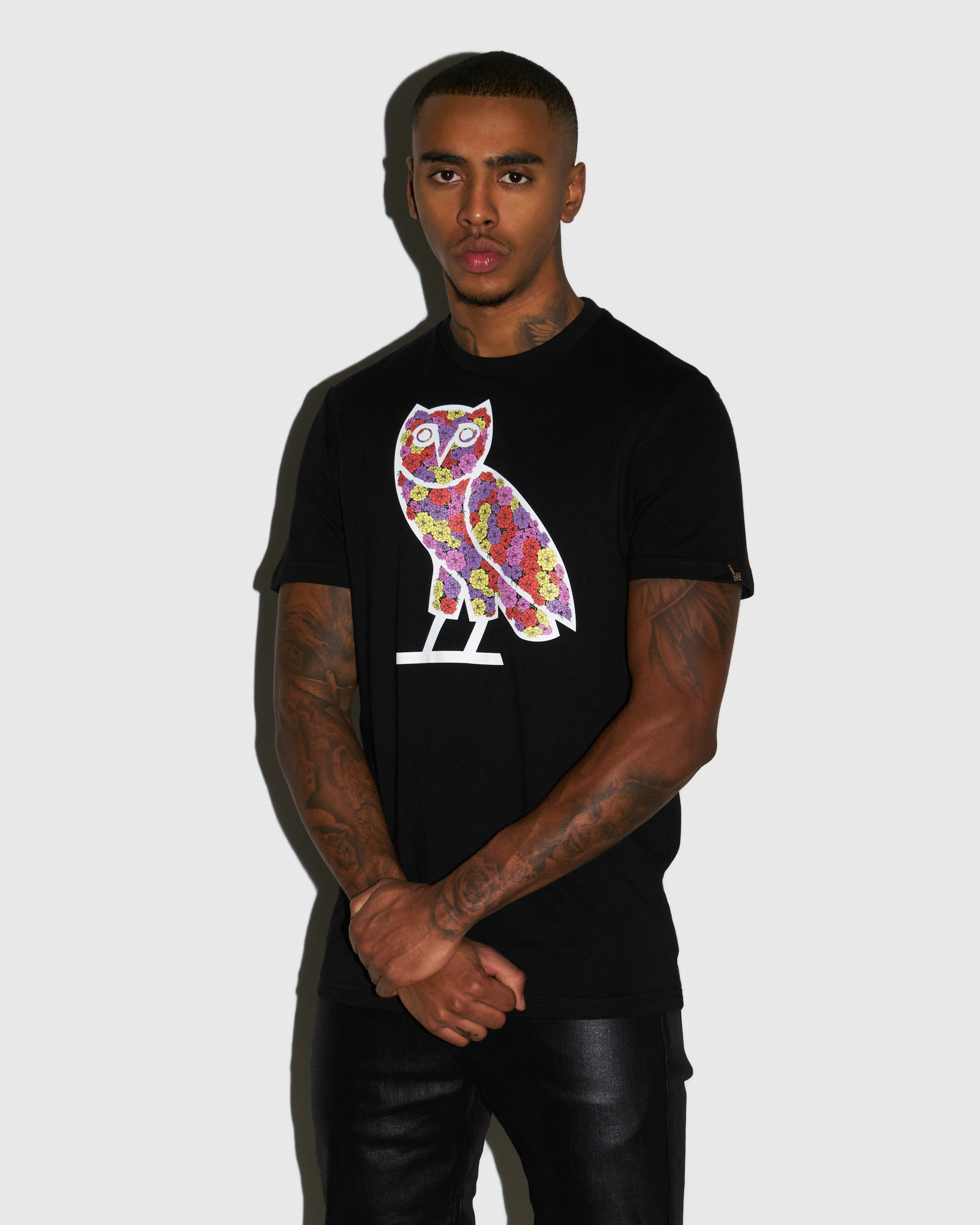 CELEBRATION OWL T-SHIRT - BLACK IMAGE #2