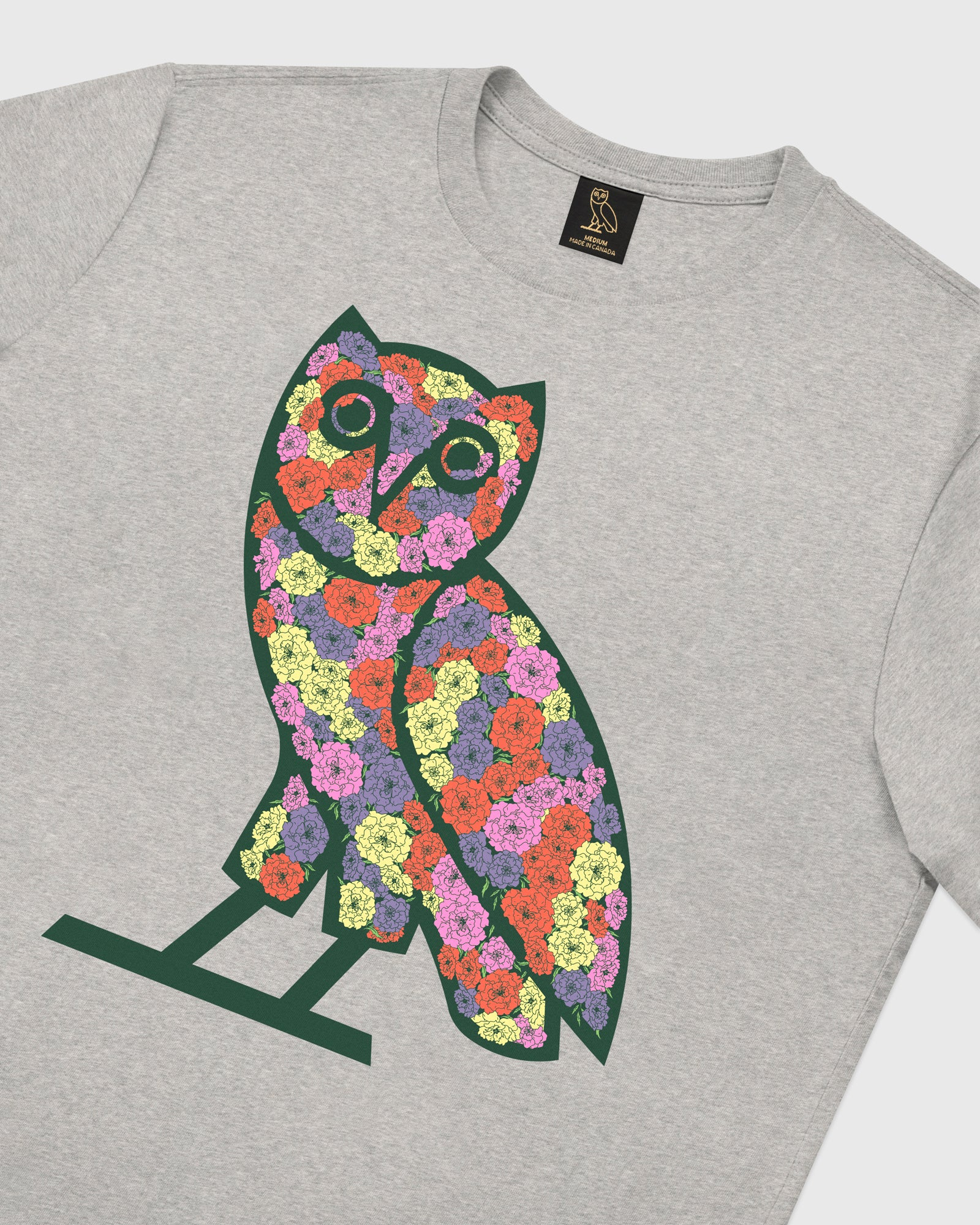 CELEBRATION OWL T-SHIRT - HEATHER GREY IMAGE #4