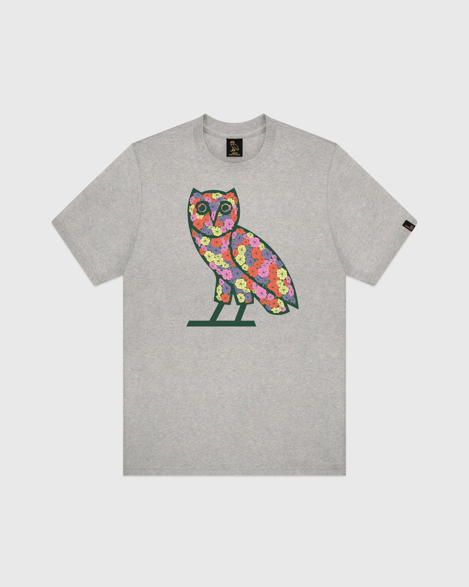 CELEBRATION OWL T-SHIRT - HEATHER GREY IMAGE #1