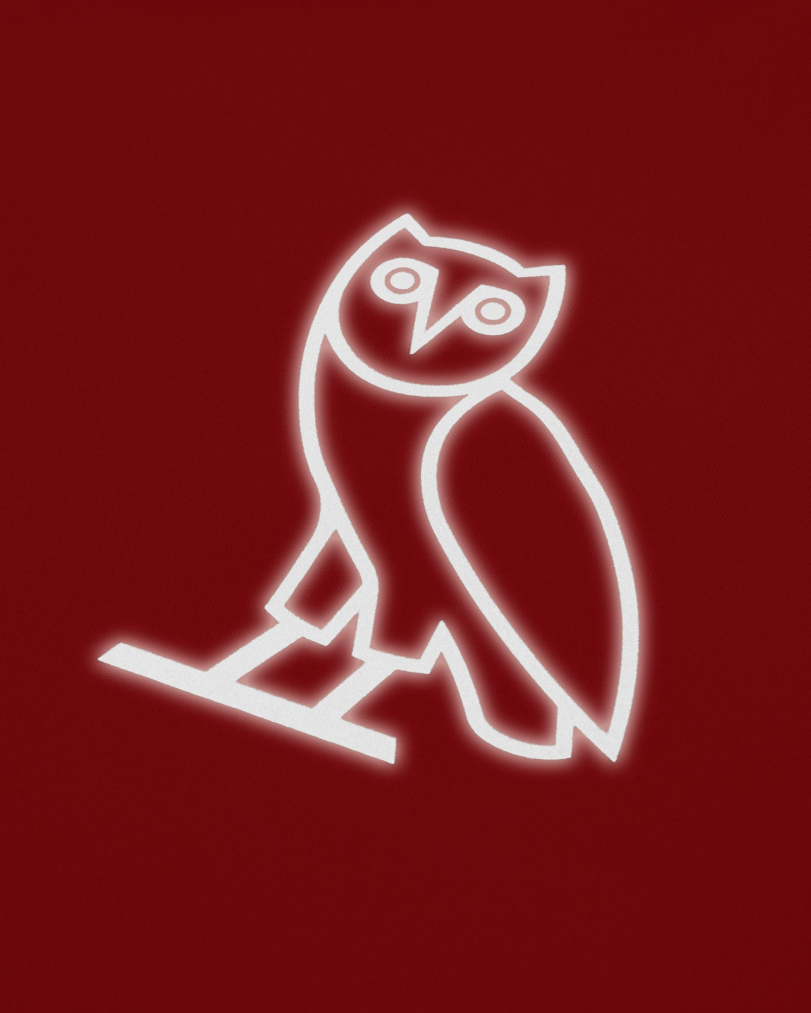 OVO OWL PERFORMANCE LONGSLEEVE T-SHIRT - RED IMAGE #4