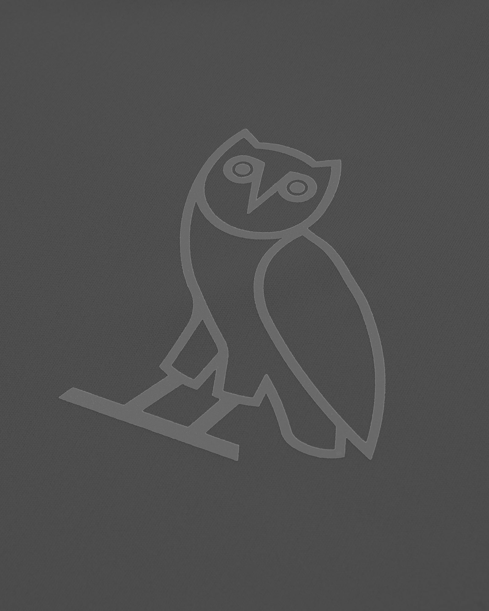 OVO OWL PERFORMANCE T-SHIRT - GREY IMAGE #3