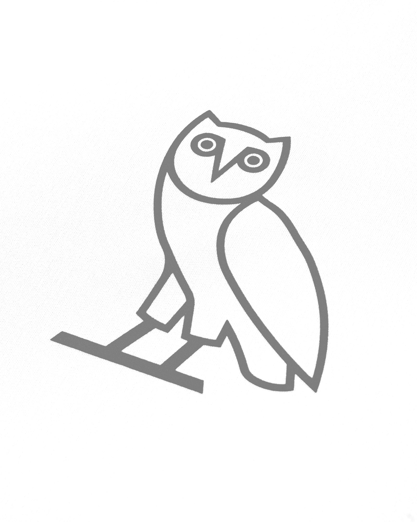OVO OWL PERFORMANCE T-SHIRT - WHITE IMAGE #3