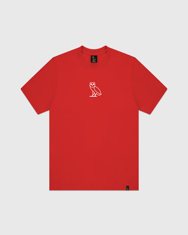 CLASSIC OWL T-SHIRT - RED