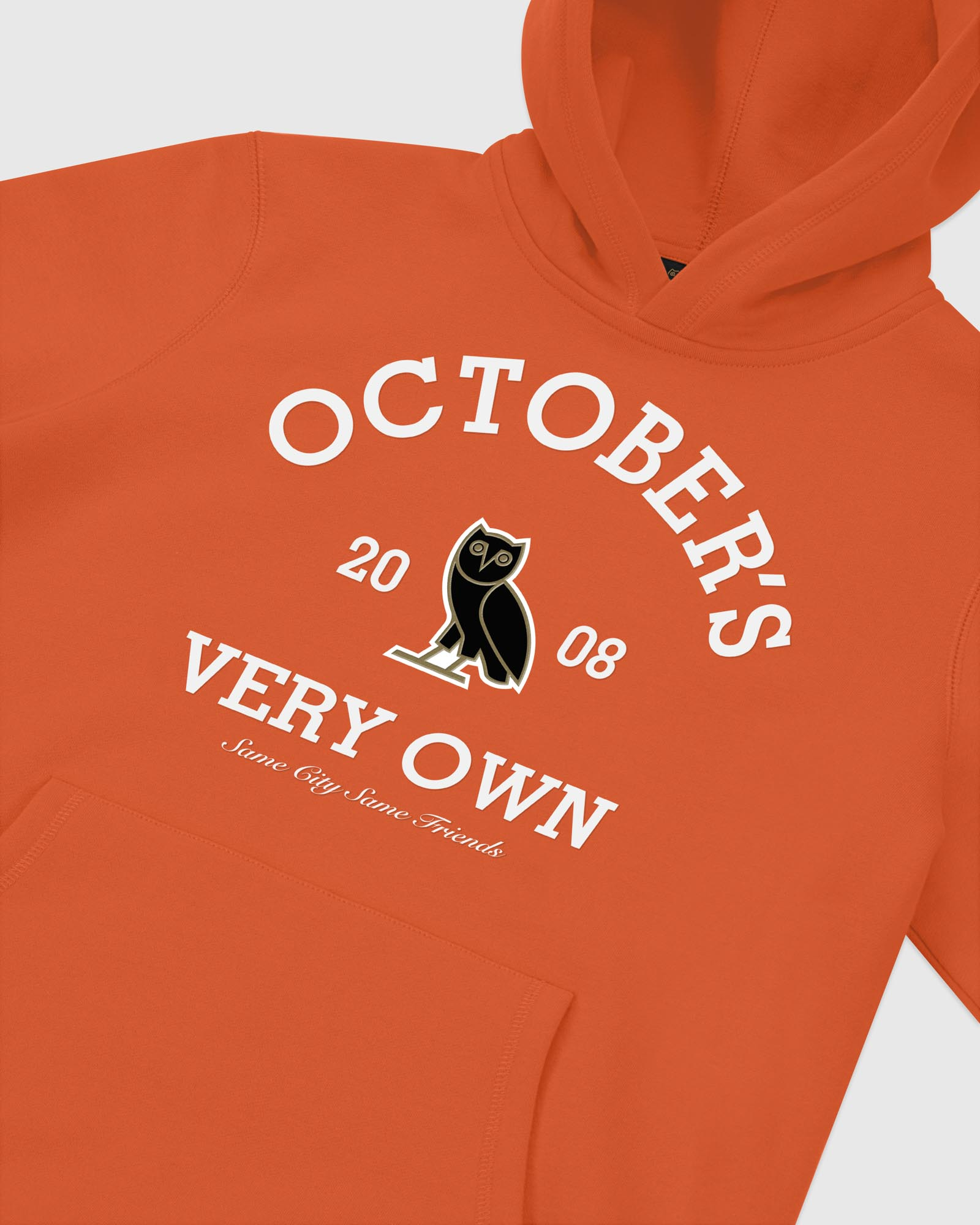 COLLEGIATE ARCH HOODIE - ORANGE IMAGE #3