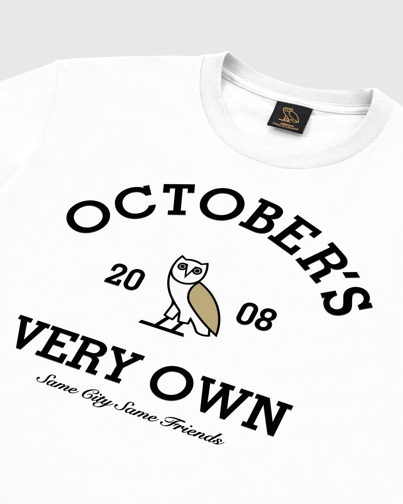 OVO COLLEGIATE T-SHIRT - WHITE IMAGE #3