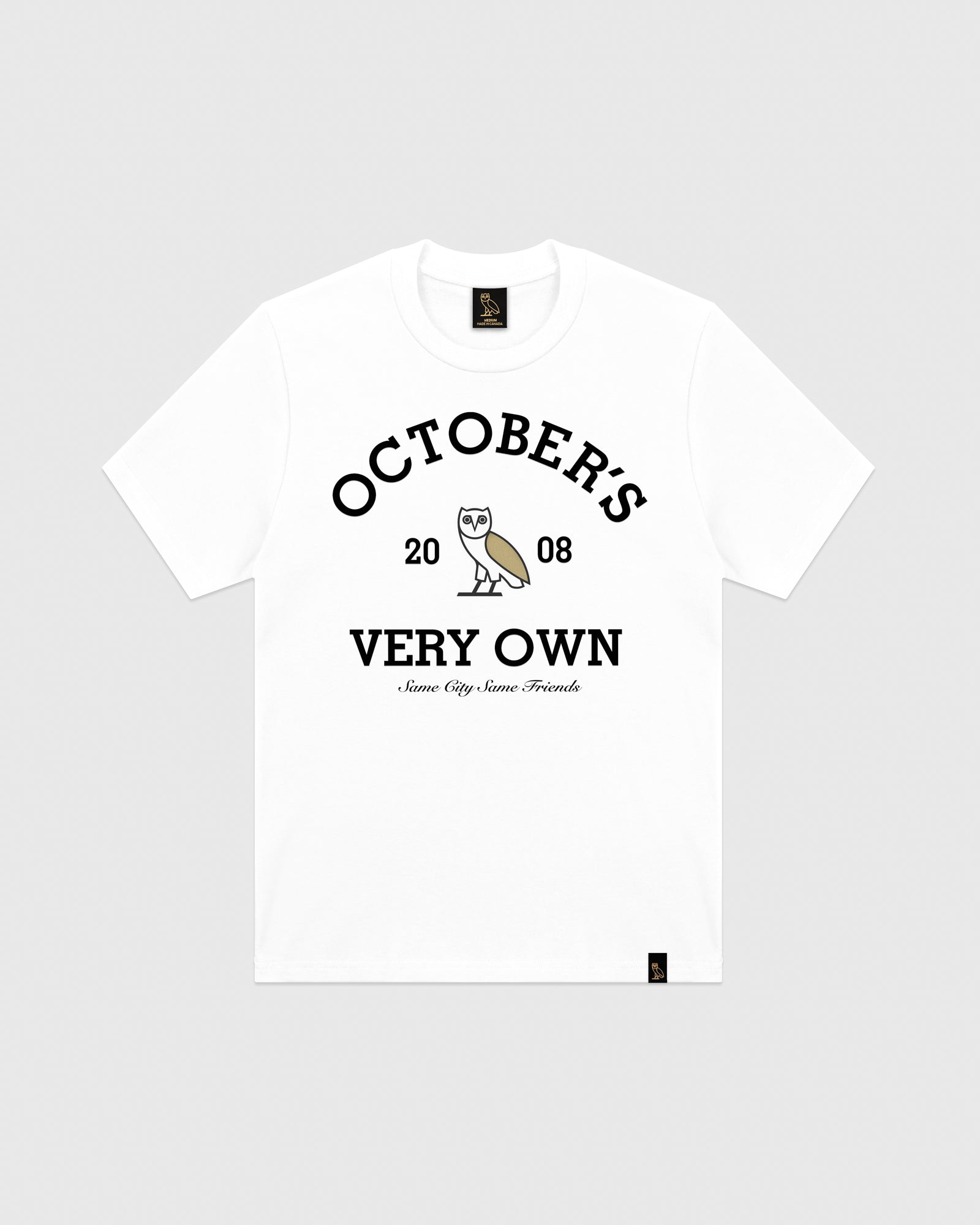 OVO COLLEGIATE T-SHIRT - WHITE IMAGE #1