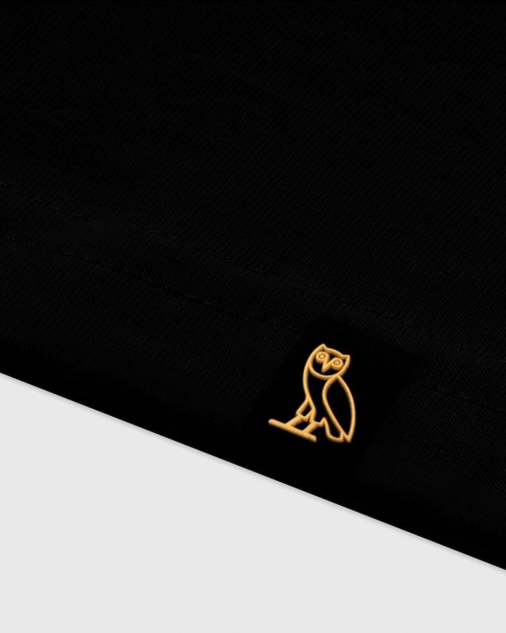 OVO COLLEGIATE T-SHIRT - BLACK