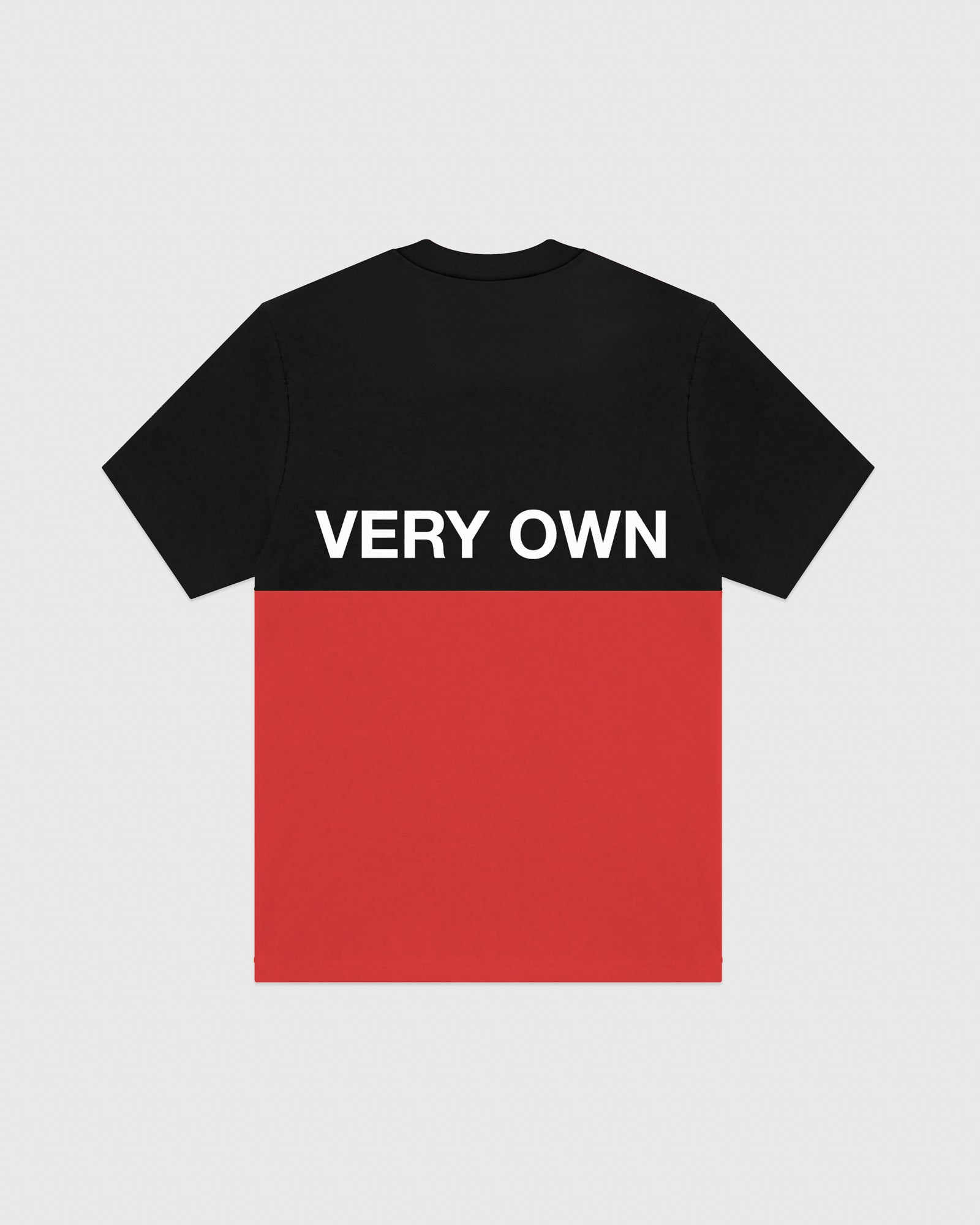 OVO COLOUR BLOCK T-SHIRT - BLACK/RED IMAGE #5
