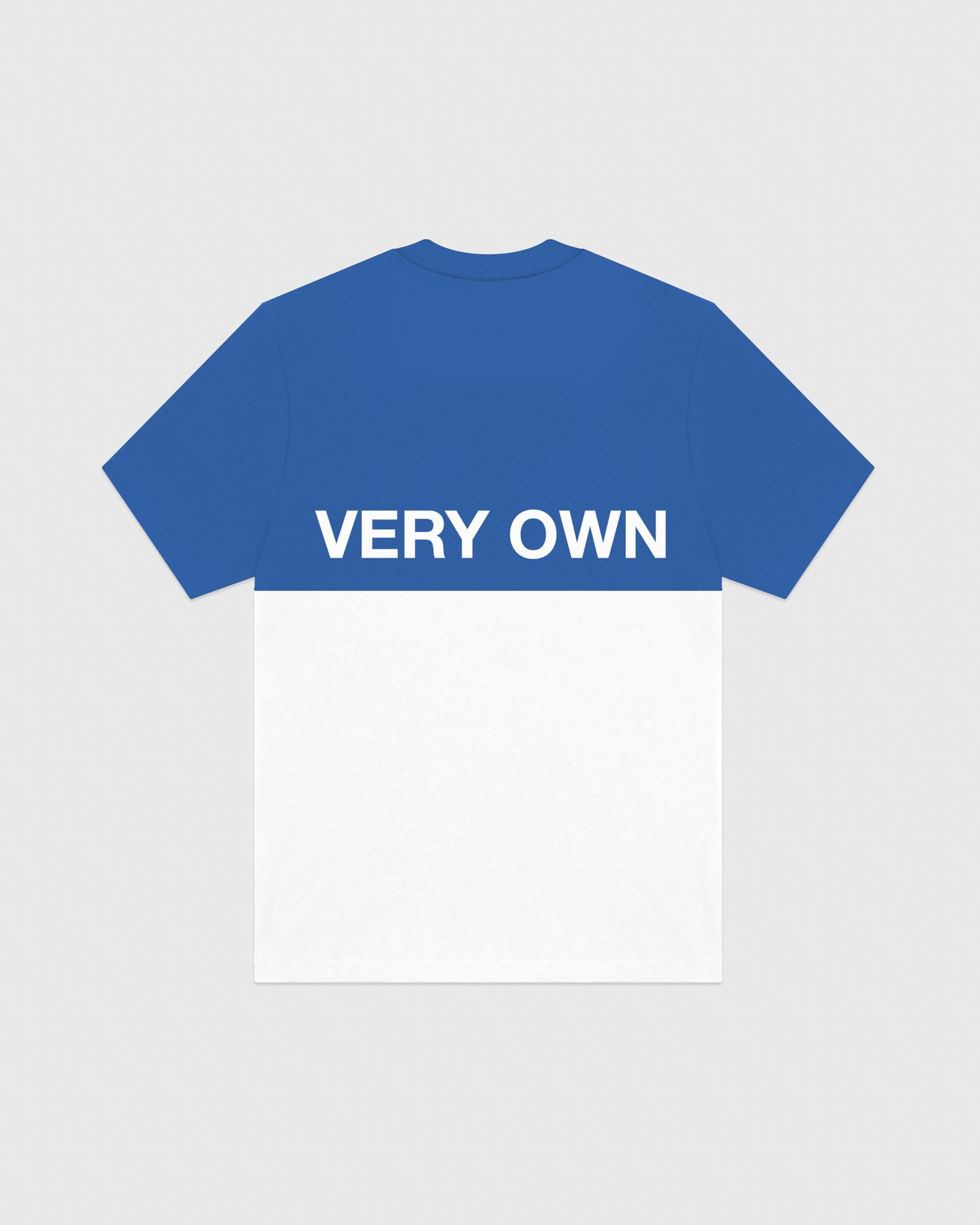 OVO COLOUR BLOCK T-SHIRT - ROYAL BLUE IMAGE #5