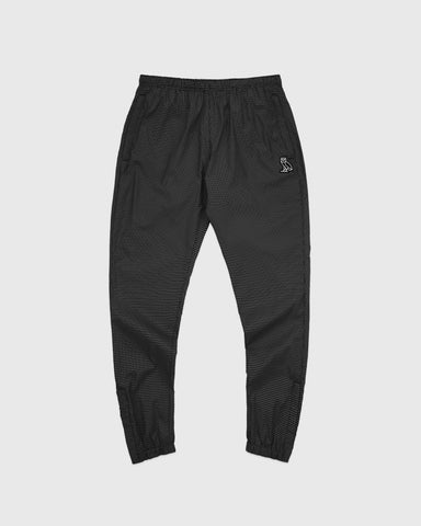 GRID WINDBREAKER PANT - BLACK