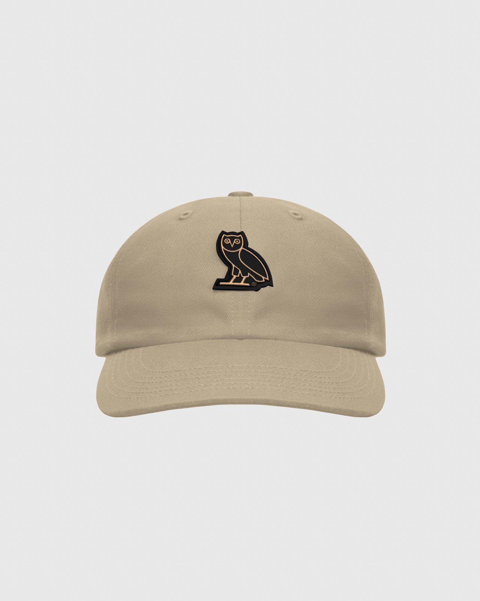 OVO COTTON TWILL CAP - KHAKI IMAGE #1