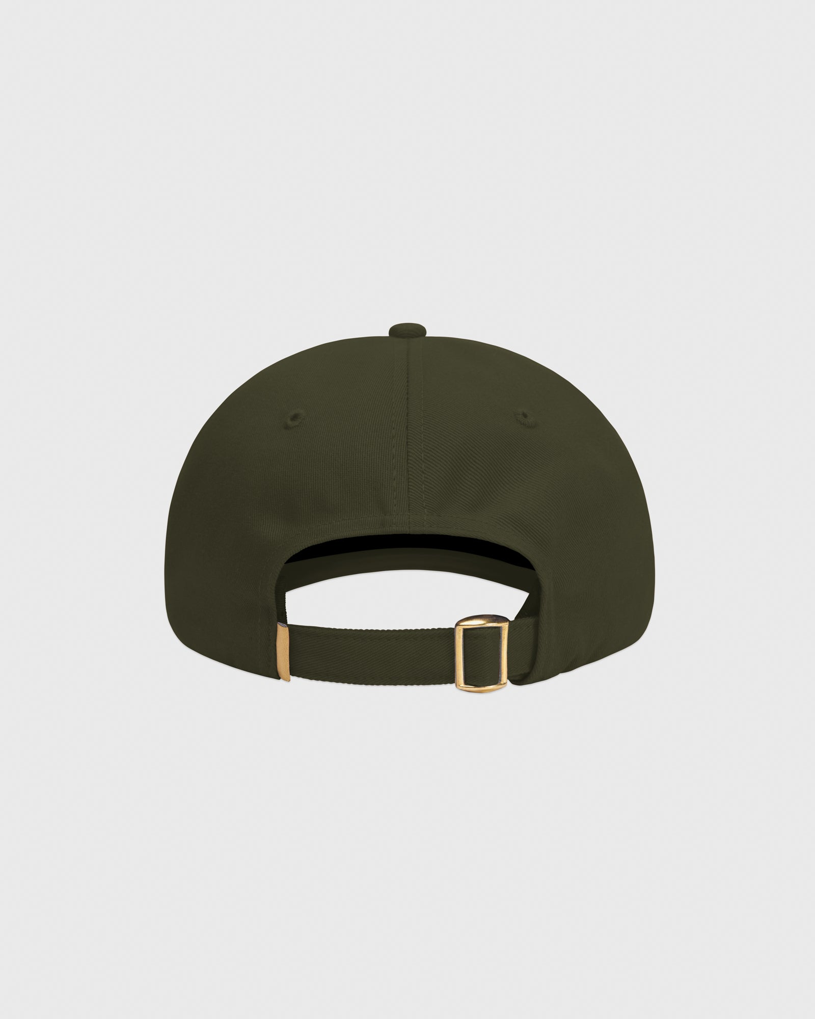 OVO COTTON TWILL CAP - MILITARY GREEN IMAGE #4