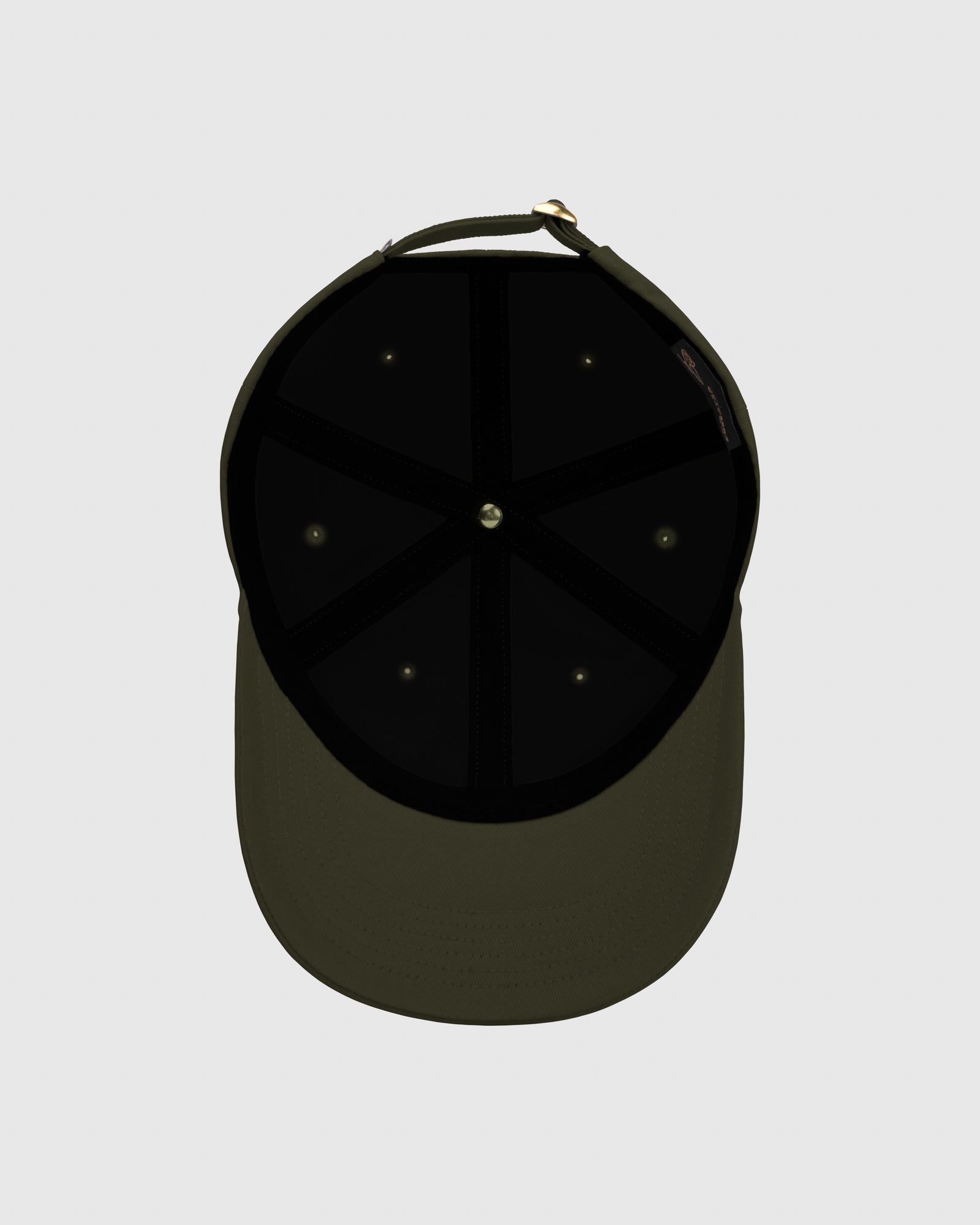 OVO COTTON TWILL CAP - MILITARY GREEN IMAGE #5